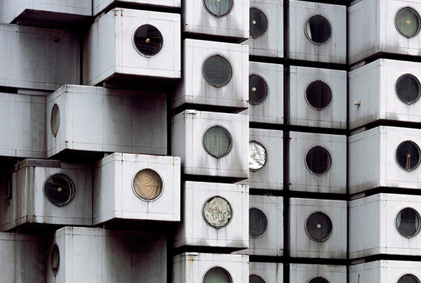 Nakagin Capsule Tower – Japanese metabolist landmark on the edge of destruction