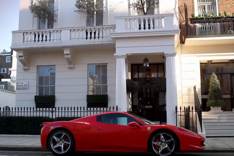 Többszintes luxuspincék London belvárosában – 8. Budapesti Építészeti Filmnapok