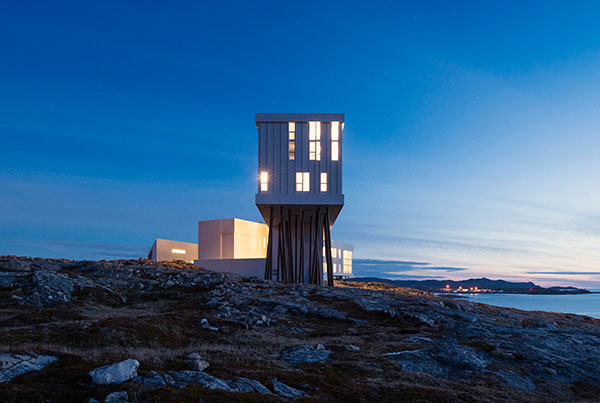 STRANGE AND FAMILIAR – ARCHITECTURE ON FOGO ISLAND